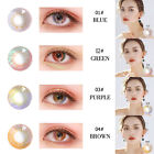 Внешний вид - 2pc UV Protection Contact Lenses Women Party Cosplay Eyewear Eye Makeup Tool LOT