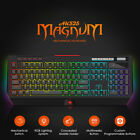 Ajazz AK525 114 Keys RGB Backlit Mechanical Gaming Gamer USB Wired Keyboard W6Z8
