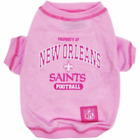 New Orleans Saints Pink Dog Pet Tshirt Tee T-shirt Size Small NFL Football First $7.96 USD on eBay