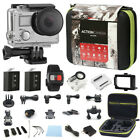 4K Action Camera Dual Screen Ultra HD 16MP Camcorder + Remote + Accessory Bundle фото