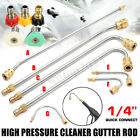"""Pressure Washer Gutter Cleaner Gun Angle Extension Lance Wand 1/4"""" Quick Connect"""