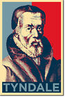 William Tyndale Art Print 'Hope' - Photo Poster Gift - Protestant