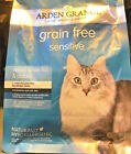 ARDEN GRANGE SENSITIVE : 400g, 2kg 4kg Grain Free Hypoallergenic bp Dry Cat Food