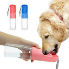 Outdoor Portable Pet Dog Water Bottle For Large Dogs Travel Drinking Bowl 450ML
