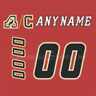 Calgary Flames 2003-17 Home Jersey Customized Number Kit un-stitched $34.99 USD on eBay