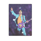 Prince Purple Custom Sofa Bed Soft Throw Fleece Blanket image
