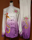 Girls Women Silk Tai Chi Kung fu Suit Martial arts Shaolin Wing Chun Uniforms