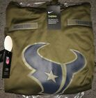 HOUSTON TEXANS Salute to Service Therma Fit Hoodie 2018 Nike Military STS on eBay