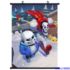 Anime Undertale Papyrus Cosplay Wall Scroll Poster Home Decor Art Customize