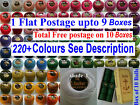 10 ANCHOR Pearl Cotton Size 8 Crochet Embroidery Thread Balls in Each Colour
