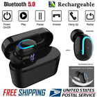 Wireless Bluetooth Headset 5.0 Headphones Sport Waterproof Earbuds Earphone