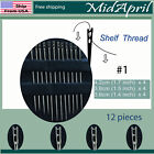 Hand Sewing Needles set Self Threading Tools Craft Quilting 12 counts US