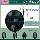 Hand Sewing Needles set  Self Threading Tools Craft Quilting (12 counts) US