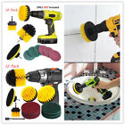 Drill Brush Attachment Set Power Scrubber Cleaning Kit Combo Scrub Tub Cleaner