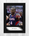 Paul Millsap (1) NBA Denver Nuggets A4 signed poster. Choice of frame. on eBay