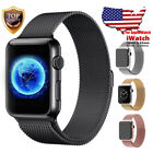 For Apple Watch Band 42mm 38mm 44mm 40mm Series 4/3/2/1 Milanese Stainless Steel image