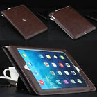 For iPad 5th Gen 2017 6th Gen 2018 Cover Luxury Smart Leather Stand Case Cover