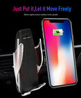 Automatic Clamping Wireless Car Charger Mount For iPhone Samsung Type-C Phones&