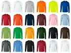 Gildan Heavy Cotton Long Sleeve T Shirt Mens Blank Casual Plain FREE SHIP image