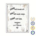 Sand Will Brush Off Salt Will Wash Clean Vintage Saying Gifts Home Decor Wall Ar