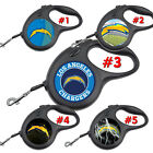 Los Angeles Chargers LA Retractable Dog Leash tangle free upto 110 lb pet leash $22.99 USD on eBay