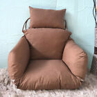 Pure Color Porch Hanging Egg Swing Chair Cushion w/Pillow Decorative Comfort SFW