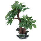 Reptile Lizard Turtle Tank Ornament Artificial Tree Plants Micro Landscape
