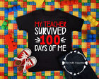 Kyпить Youth Unisex T-Shirt - My Teacher Survived 100 Days of Me - School Student IMG1 на еВаy.соm