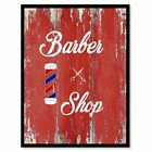 Barber Shop  Quote Saying Gift Ideas Home Décor Wall Art