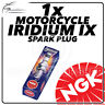 1x NGK Upgrade Iridium IX Spark Plug for HONDA 125cc CB125F 15-> #7385