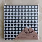 #71127  #71141 Daiso Monotone Designs Origami Paper 80 or 100 Sheets UPick 1or2