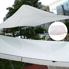 Portable Sand Sun Shade Sail Sunscreen Rectangle Awning Canopy Outdoor Garden US