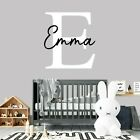 Custom Name Personalised Nursery Wall Decal Kids Baby Art Bedroom Wall Sticker