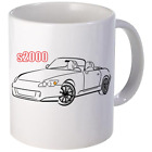 S2000 Sports Car Coffee Mug 11oz 15 oz Ceramic NEW image