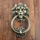 1pc Dresser Drawer Cabinet Door Ring Lion Head Shaped Pull Handle Knob & Screws