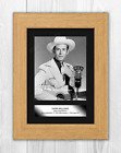 Hank Williams A4 reproduction autograph photograph poster. Choice of frame.