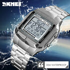 SKMEI Sports Watch Men Luxury Watches Waterproof LED Digital Military Wristwatch image