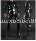 Latex Catsuit Body Suit 100% Rubber Colored Tights 0.4mm Cosplay Wear 2019 S-XXL