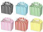 15 Stripe Food Boxes Picnic Lunch Gift Box Wedding Favour Birthday Party
