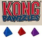NEW KONG Pawzzles Pyramid Dog Treat Dispenser Toy Stimulating Puzzle