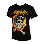 ANTHRAX PUNK ROCK BAND GRAPHIC MEN'S T-SHIRT image
