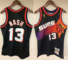 Steve Nash Phoenix Suns Mitchell & Ness Rookie 1996-1997 Authentic Jersey Black