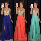 Hot Women Formal Wedding Bridesmaid Long Evening Party Ball Prom Cocktail Dress