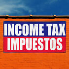 Vinyl Banner Sign Income Tax Impuestos Income Tax Refund Marketing Advertising $199.99 USD on eBay