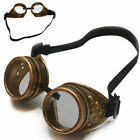 Retro Steam Punk Goggles Steampunk Glasses Vintage Welding Gothic  New Perfect