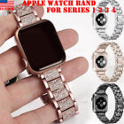 Stainless Steel Strap iWatch Bracelet Diamond For Apple Watch 40/40mm 5 4 3 2 1 image