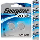 Energizer CR2032 Battery 3V Lithium Coin Cell 2 Pack - 4 6 8 10 Batteries