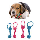2x Dog Puppy Pet Chew Toy Knots Cotton Rope Strengthen Teeth Ball