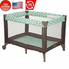 Portable Bed For Baby 12 Manths, Fits In The Trunk Compact Baby Play Yard, Zuri