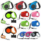 3m/5m Retractable Pet Dog Lead Dog Puppy Rope Tape Extendable Dog Walking Lead